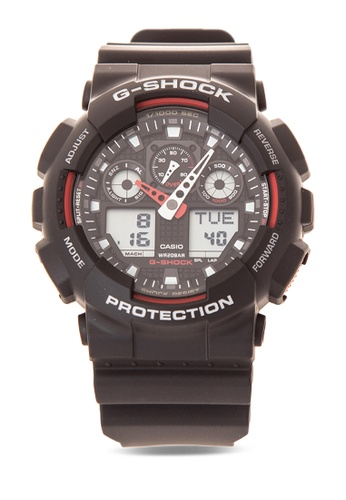 b54abde211dc Shop Casio G-SHOCK Watch GA-100-1A4DR Online on ZALORA Philippines