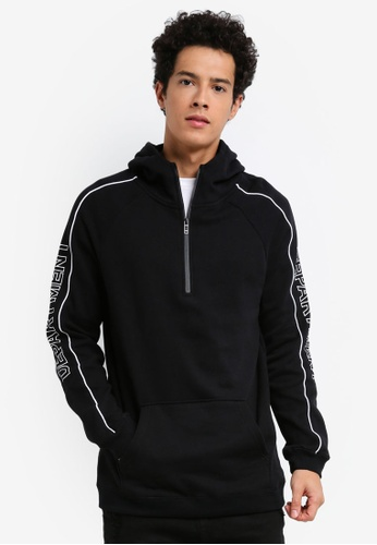 Cotton On black Fleece Pullover Hoodie EDE42AA8A1A122GS_1