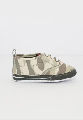 Treehouse green Prewalker Baby Sneakers 7F339KS1418E24GS_1