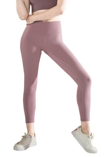 HAPPY FRIDAYS 秋冬新款口袋裸感運動緊身褲QF2185 F4B96AA63B2407GS_1