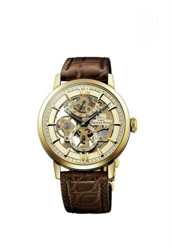 Orient gold Orient Star Skeleton Men Mechanical Watch ORSDX02001C 31493AC9389EA9GS_1