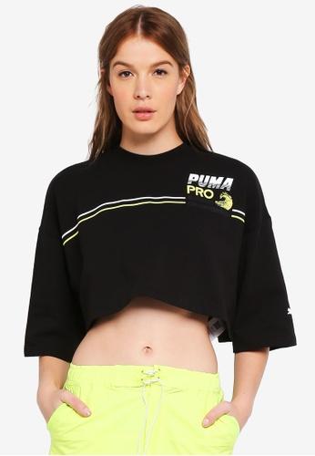 Cropped Shirt Buy X Puma On T Fenty Online Crew Select Neck 4BPagqwIB