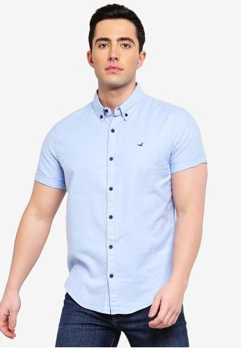 13e4e0c8234d Buy Hollister Slim Fit Oxford Shirt Online on ZALORA Singapore