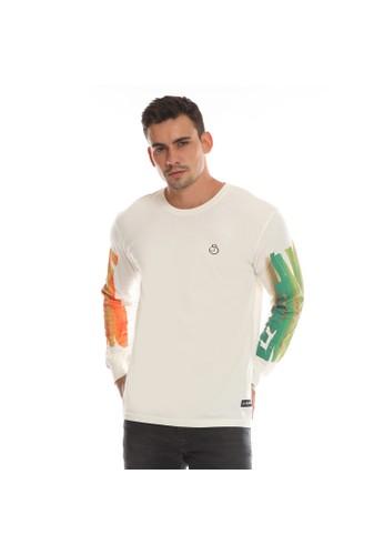 Juice Ematic Juice Ematic Kaos Lengan Panjang Pria putih terang DEEP 9DE4EAAC56E35AGS_1