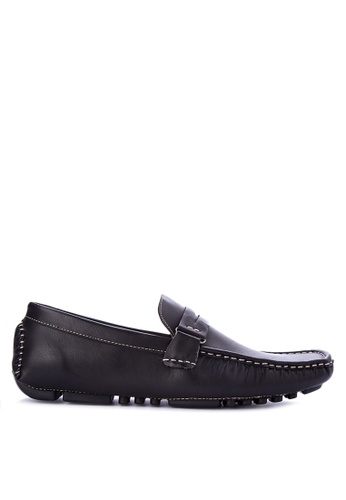 Mendrez black James Loafers ME992SH0KG1UPH_1
