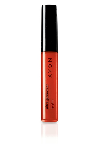 Avon orange Ultra Glazewear Lip Gloss in Tangerine Gleam AV454BE04RDNPH_1