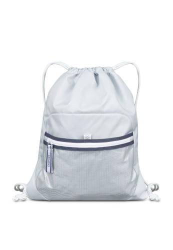 Exsport grey Exsport Mila Olympia Drawstring Bag - Grey 24L 91E46AC039B54DGS_1