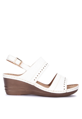 fbe89bf17a9 Shop UNLISTED Monica Sling Back Wedge Sandals Online on ZALORA Philippines