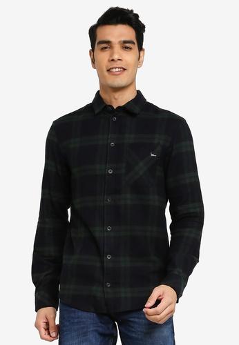 BLEND black Checked Slim Fit Shirt 46F39AACBAB2FFGS_1