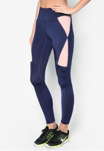 彈性色塊運動長褲, 服飾,esprit香港門市 服飾