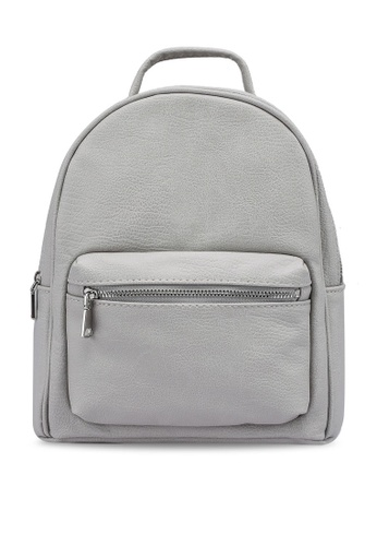 H&M grey Small Backpack 46CC8ACEA96FFAGS_1