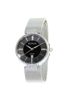 BONIA silver Bonia B10442-2332 - Jam Tangan Analog Wanita - Silver  18E78ACB874C28GS 1 82517db358