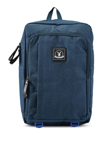 Playboy blue Playboy Casual Backpack PL371AC0SK02MY_1