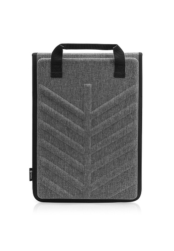 tomtoc grey 13-13.5 Inch tomtoc Slim Protective EVA Hard Shell Laptop  Carrying Case Sleeve 895abcbc7