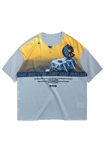 Twenty Eight Shoes Personalized Printed Short Sleeve T-shirt 1189S20 76DA5AA5CC2855GS_1