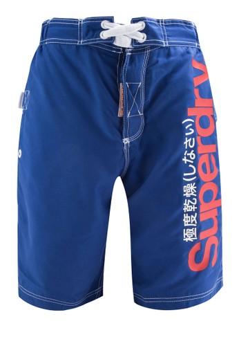 品牌esprit 西裝衝浪短褲, 服飾, 運動