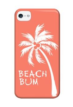 Beach Bum Matte Hard Case for iPhone 4, iPhone 4s