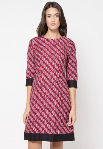 Bateeq Long Sleeve Parang Dress