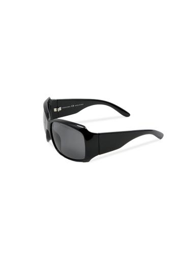 Sensolatino Eyewear Sensolatino眼镜意大利制造Mod。罗西黑色镜框配黑色镜片 EB2F2GLB25E78DGS_1