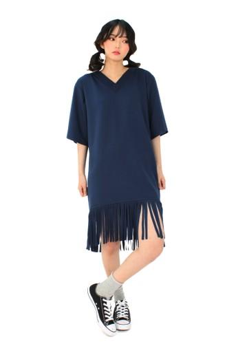 V领流苏,esprit hk store 服飾, 上衣