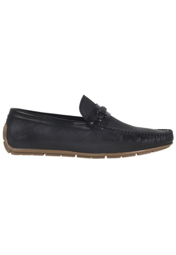 Tomaz Tomaz C293 Braided Buckled Loafers (Black) D5DDBSH6B34C5AGS_1