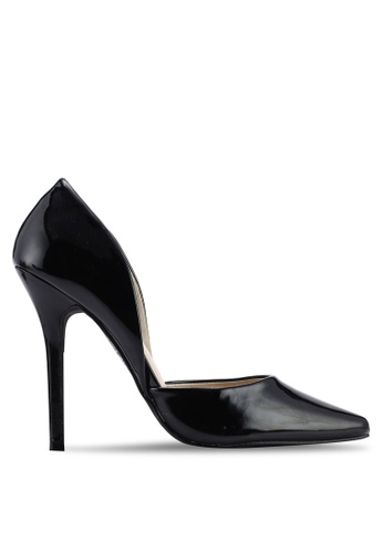 Glamorous 黑色 D'Orsay 高跟鞋 4396CSH59DE324GS_1
