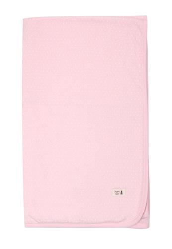 Organic mom pink Organic Cotton Ingrid Dot Blanket 80882KCEE81151GS_1