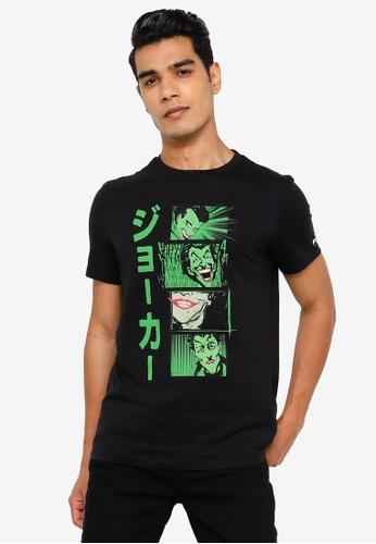 Springfield black Batman T-Shirt 60056AAEAF42F7GS_1
