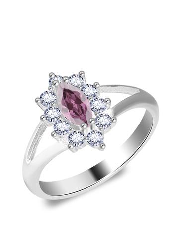 SC Tom Silver silver Birthstone Ring SC872AC0JAE8PH_1