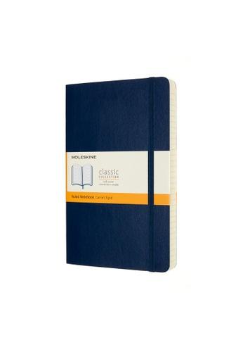 Moleskine blue Classic Notebooks Expanded Ruled Soft Blue Large 659C6HL60B4EAEGS_1