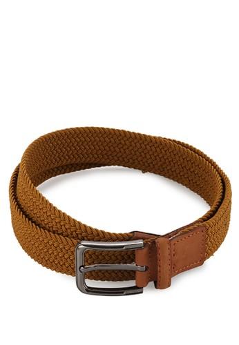 EAGLE Genuine Leather Elastic Belt W30-Cm