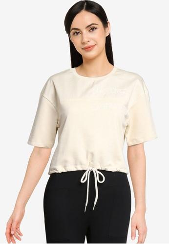 Desigual white Boudicca T-Shirt 1B85BAABD36D25GS_1