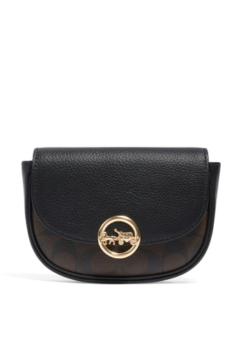 Coach black and brown Mini Belt Bag (cv) 041B2ACA137159GS_1