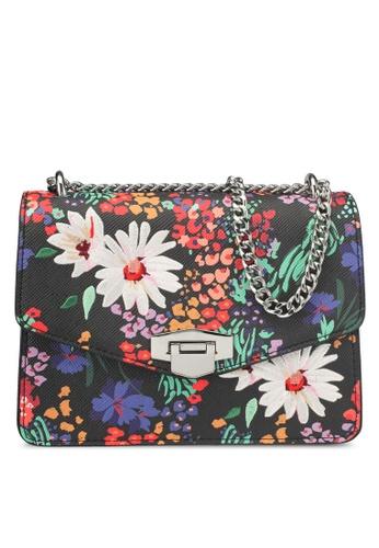 Mango black Floral Print Bag 8F240AC4D7B859GS_1