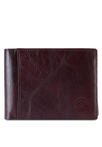 Lumberjacks red Lumberjacks Genuine Leather Wallet LU545AC88PBZMY_1