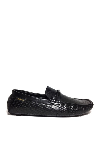 SEMBONIA black SEMBONIA Men Microfiber Loafer (Black) D9782SH427D628GS_1