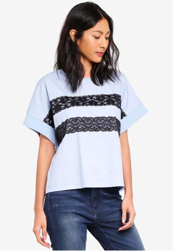 ESPRIT blue Short Sleeve T-Shirt C79AFAAEC21BCDGS_1