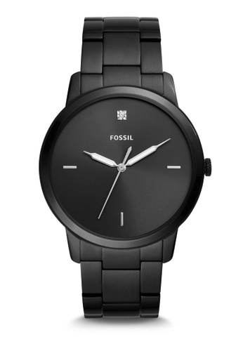 Fossil black The Minimalist 3H Analog Watch FS5455 0472AACD7D5DB1GS_1