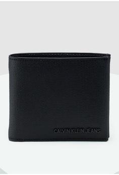 e30e47870247e Calvin Klein black Billfold Coin Wallet - Calvin Klein Accessories  97218AC765393BGS 1