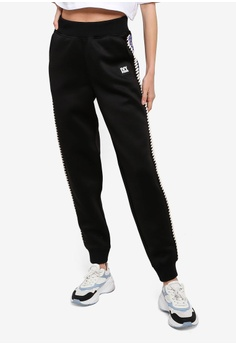 01c865644129 Ivy Park black Craft Spacer Mesh Joggers D02E1AA053796EGS 1