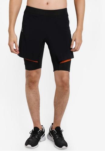 Salomon black Intensity Tw Shorts SA438AA86WERMY_1