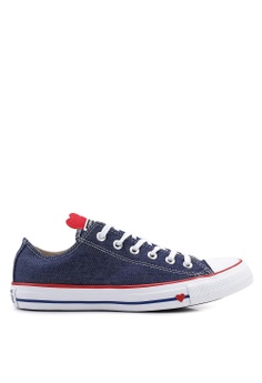 1c9c65cb0d3 Converse navy Chuck Taylor All Star Sucker For Love Ox Sneakers  B4AEESHB14638EGS 1