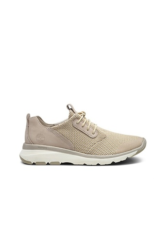 Timberland beige Altimeter Fabric and Leather Oxford 21C86SHC03C662GS_1