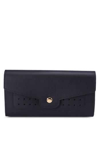 LONGCHAMP black Mademoiselle Longchamp Continental Wallet (zt) DB59FAC80F0A9FGS_1