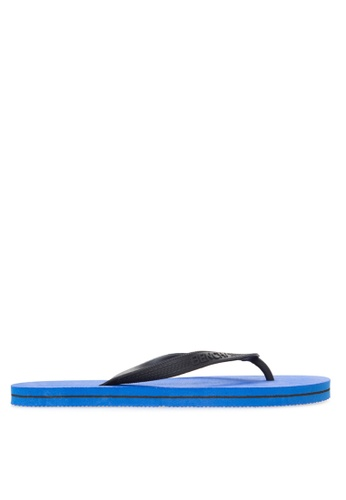 BENCH blue Basic Rubber Slippers BE550SH00MBNPH_1