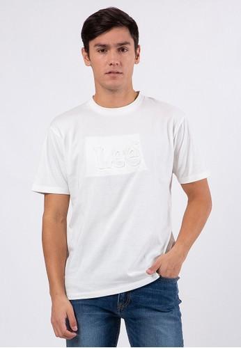 Lee white SLIM T-SHIRTS MAINLINE D5900AAE94ED6AGS_1
