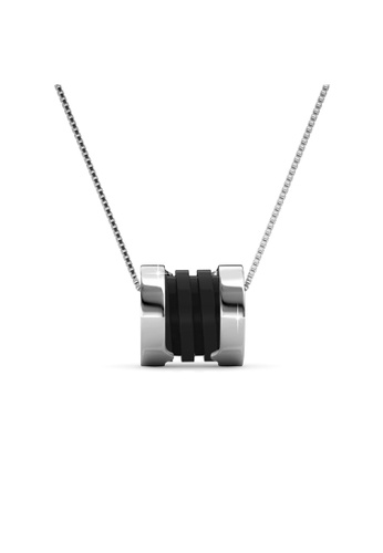 Her Jewellery silver Her Jewellery Destiny Ceramic Pendant (Black) with Necklace Chain with 18K Gold Plated HE210AC84OTVSG_1
