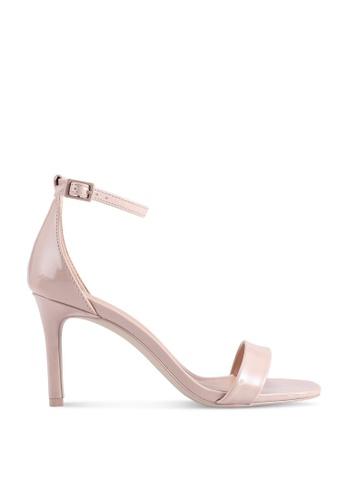 Call It Spring 米褐色 Ella Open Toe Ankle Strap Heels C7592SH9FAA945GS_1