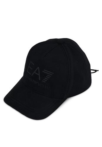 EA7 black Logo Cap 1C7F5AC94C3694GS_1