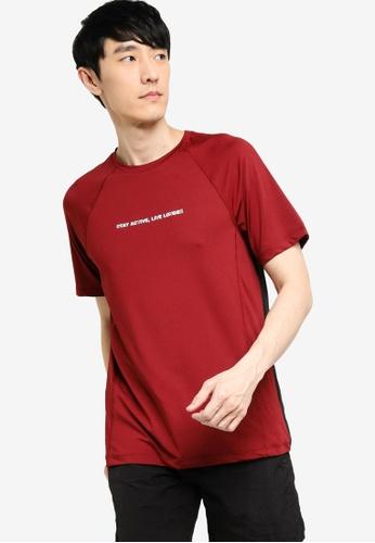 KOTON red Active T-Shirt D9585AA9601C18GS_1